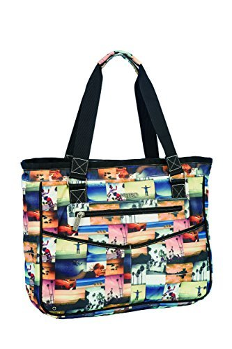 Nitro Snowboards Women's Carry-All Bag Multi-Coloured California Size:41 x 33 x 13 cm by Nitro Snowboards