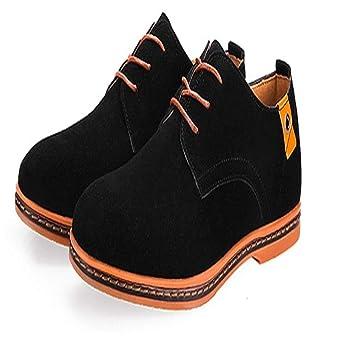 Fuxitoggo Zapatillas clásicas para Hombre Zapatillas Informales clásicas Zapatillas sin Cordones Slip Soft Sole Daily Fashion Derbys (Color : Negro, ...