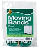 Bulk Large Circumference Moving Bands for large objects, 0.75''x72'', 3 per pack: Duck Brand 284852 (48 Moving Band Packs)