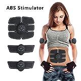 Ultimate ABS Stimulator Portable Muscle Toner Ab Abdominal Toning Belt Electric AB Stimulator AB Toner Belt Fat Burner Equipment for Abdomen/Arm/Leg Muscle Trainer for Men Women