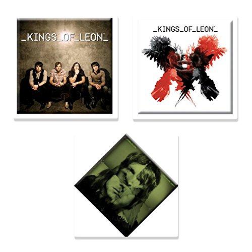 Kings Of Leon 3 X Fridge Magnet Band Logo Official Gift Set