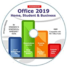Office Suite 2019 Home Student and Business for Microsoft Windows 10 8.1 8 7 Vista XP 32 64bit| Alternative to Microsoft Office 2016 2013 2010 365 Compatible with Word Excel PowerPoint ⭐⭐⭐⭐⭐