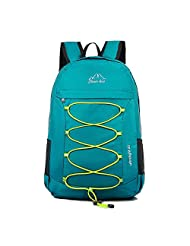 Ultra Lightweight Packable Backpack Hiking Daypack ,Handy Durable Foldable Camping Outdoor Travel Biking School Air Travelling Carry on Backpack for Men and Women (green)