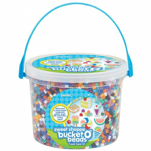 Perler Sweet Shoppe Bead Bucket (5500-Piece)