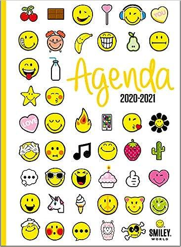 Smiley Agenda Emoticones 2020 2021 Amazon Co Uk Smileyworld Ipokamp 9782821212022 Books