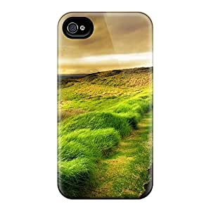 Tpu STWanke Shockproof Scratcheproof Highway On The Shore Hard Case Cover For Iphone 4/4s