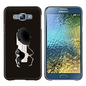 TECHCASE---Cubierta de la caja de protección para la piel dura ** Samsung Galaxy E7 E700 ** --Resumen Robot