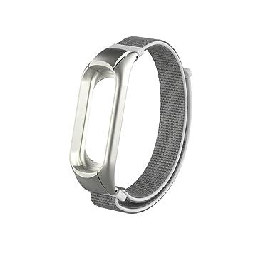 para xiaomi mi Band 3 Correa,❤️Amlaiworld Reemplazo de Pulsera de smartwatch Muñequeras Nylon