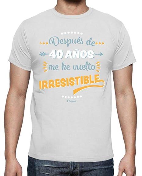 latostadora - Camiseta 40 Aos Irresistible para Hombre ...
