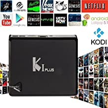K1 PLUS Smart TV Box Android 5.1 Amlogic S905 Quad Core 1GB/8GB 2.4G WIF 4K 3D Moive DLNA AirPlay HDMI Streaming Media Player