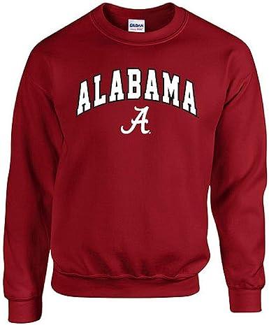 Elite Fan Shop NCAA mens Dark Heather Arch Crewneck Sweatshirt