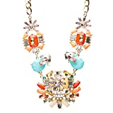 Audacious Design Crystal Rhinestone Fascinating Arrangement Necklace Set N76 MT