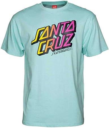 Santa Cruz Camiseta Stack Fade Aqua BL S: Amazon.es: Ropa y ...
