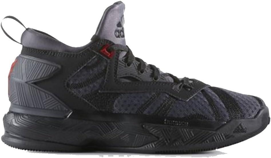 adidas D Lillard 2 J Gs Black//Black//Red Gs Basketball B72855