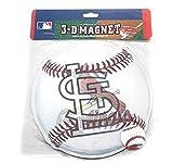 "MLB Licensed Ultraflip 3-D Magnets 6"" Baseball (St.Louis Cardinals)"