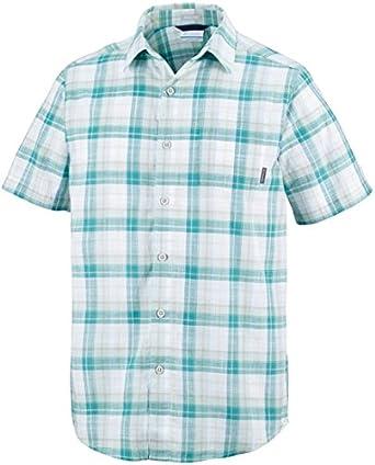 Columbia Under Exposure Camisa Manga Corta, Hombre: Amazon.es: Ropa y accesorios