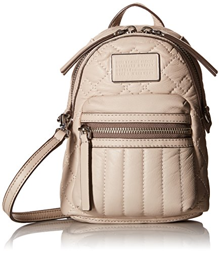 Marc by Marc Jacobs Domo Biker Quilted Cross Biker Cross Body Bag, Papyrus, One Size