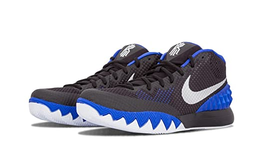 Mens Nike Kyrie 1 Brotherhood Lyon Blue Metallic Silver Black Anthracite US  11.5
