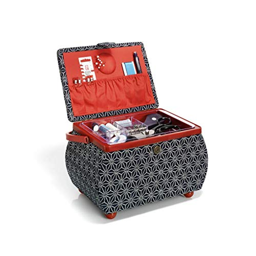 Prym Sewing Basket L Kyoto, Multicoloured, One Size