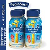 PediaSure Complete, nutritional supplement, 4 x 235 mL, Vanilla