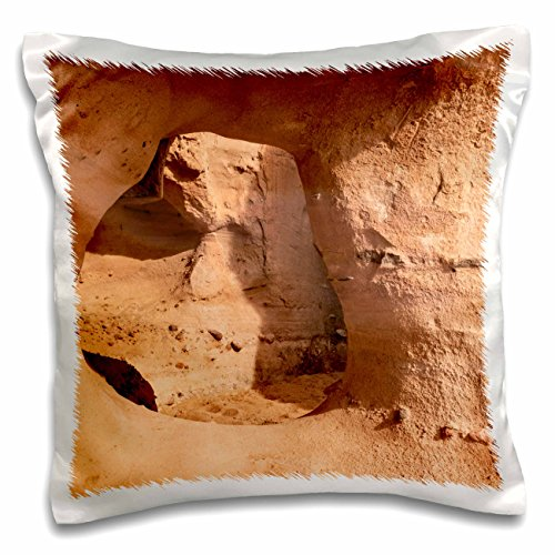 nt - New Mexico - Sandstone arch, Canyon National Recreational Trail, Socorro, NM - 16x16 inch Pillow Case (pc_251285_1) (Socorro Throw)