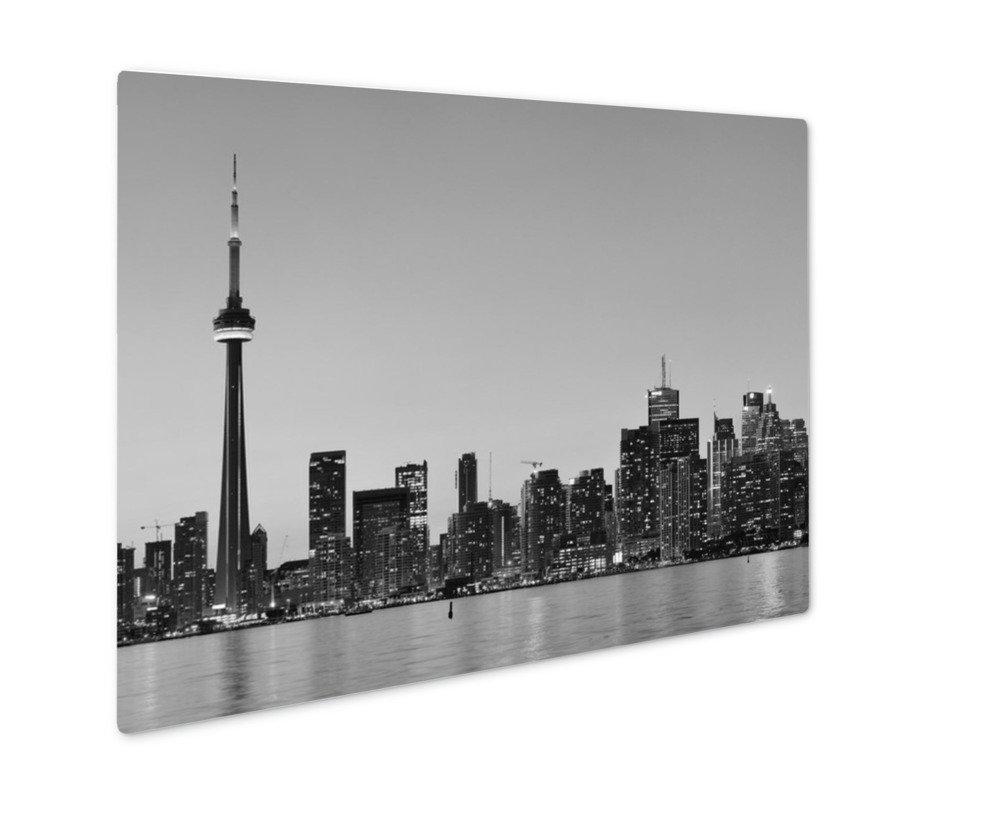 ashley giclee toronto skyline 壁アート写真印刷メタルのパネル