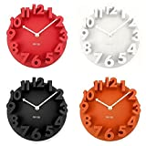 3D Dome Round Wall Clock For Home Fashion Modern Art Decorative