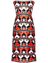 Women's Spring Summer Casual Printed Patterned Stretch...