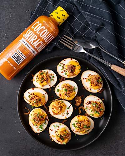 Marion S Kitchen Coconut Sriracha Chili Sauce 6 Pack 14 Oz