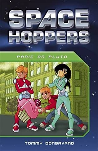 book cover of Panic on Pluto