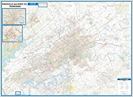 2009 Knoxville, TN (City Wall Maps)