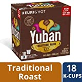 yuban coffee keurig - Great Taste & Pure Instant Traditional Roast Coffee K-Cup Pods 18 ct Box, Pack of 3