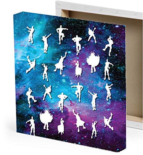 (Dance Moves 12x12 Stretched Canvas Art Print Decor)