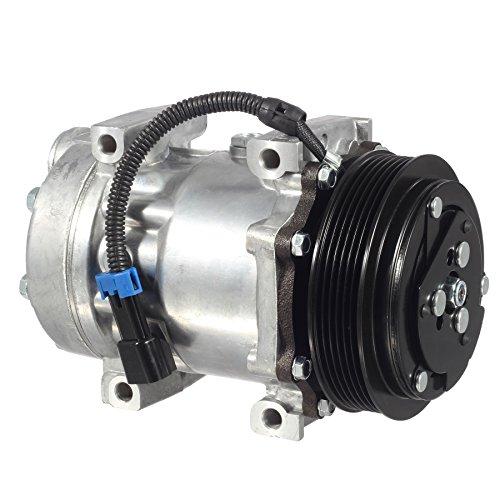 AUTEX AC Compressor & A/C Clutch Replace CO 4815C 3547916C1 Replacement for Sanden International 4200 & 4200LP 2002 2003 2004 2005 2006/Sanden International 4300 2006-2009/Sanden 4300LP 2006-2010