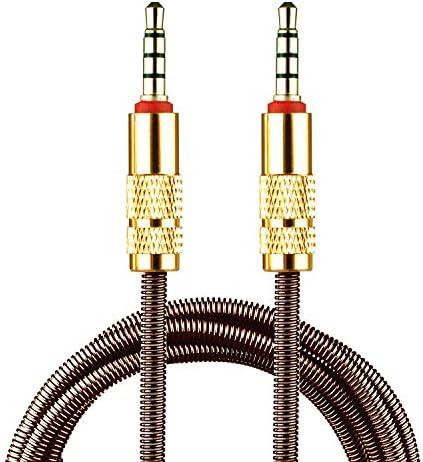 ULTRICS 3,5 mm AUX Cable 90cm, 3 Pack Conector Macho a Macho Conector de Sonido Estéreo HD Compatible con Auriculares Smartphone Samsung Reproductores de MP3 Altavoz para Hogar y Automóvil: Amazon.es: Electrónica