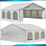DELTA Canopies Budget PE Party Tent Canopy Shelter 20'x20' - White