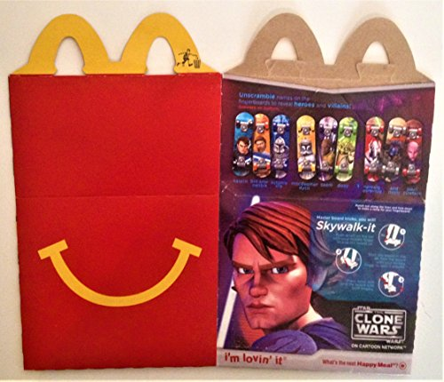 Meal Happy Collectibles (Star Wars Clone Wars/Strawberry Shortcake McDonald's Happy Meal Box 2010)