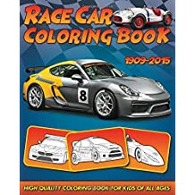 Race Car Coloring Book: 30 High Quality Race Car Design for Kids of All Ages