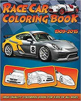 Race Car Coloring Book 30 High Quality Race Car Design For Kids Of