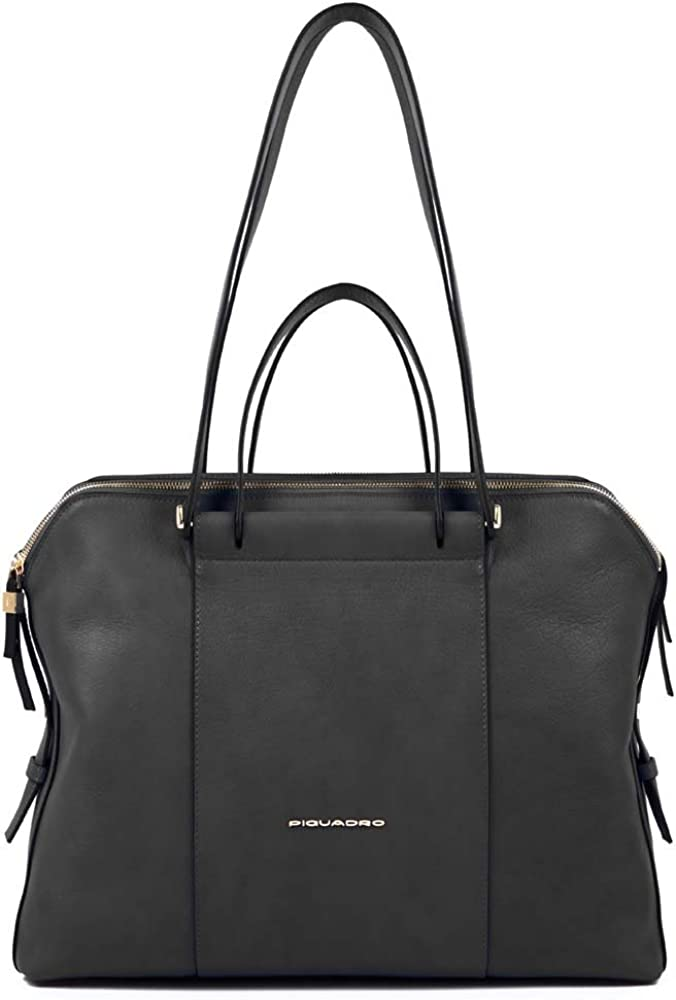 PIQUADRO Bag Female Leather Black - BD4574W92-N