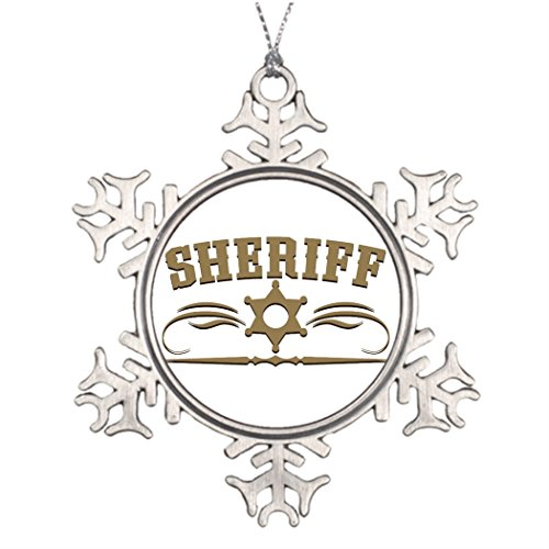 Xmas Trees Decorated Sheriff Western Style Decorating For