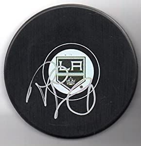 Rob Blake Autographed Puck Los Angeles Kings