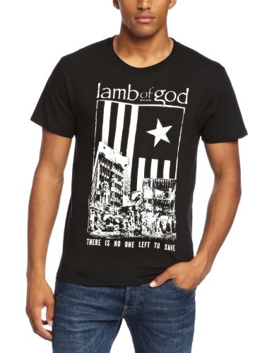 Lamb Of God No One Left To Save Official Mens New Black T Shirt