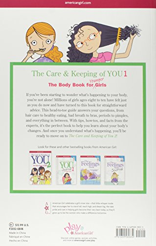 The Care and Keeping of You: The Body Book for Younger Girls, Revised Edition (American Girl Library)                         (Paperback)