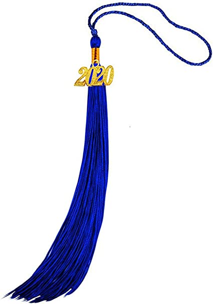 HEPNA 2020 Update Uniforms Graduation Cap Tassel for Graduation Photo,Black