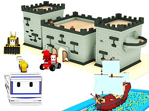 Learn with Tiny Trucks: The Pirate Ship / The Haunted Castle on Halloween