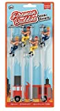: NPW-USA The Original Drinking Buddies, Fireman's Buddies Pole Drink Stirrers