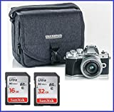 Olympus OM-D E-M10 Mark III (Mark 3) Digital Camera Bundle (with 14-42mm EZ Lens, Silver)