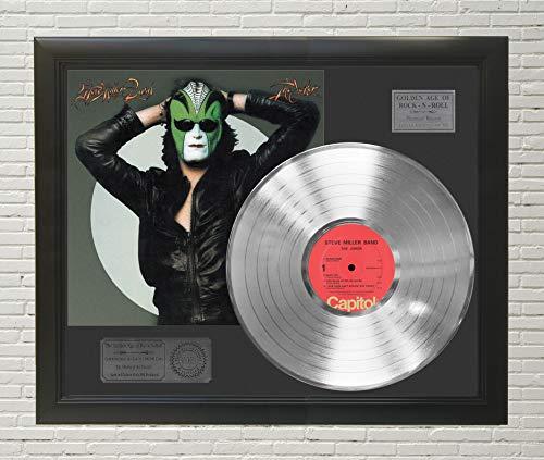 - Steve Miller Band The Joker Framed Platinum LP Display C3