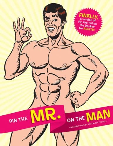 Fun Bachelorette Party Games Activity Popular Pin the Mister Like Pin the Tail